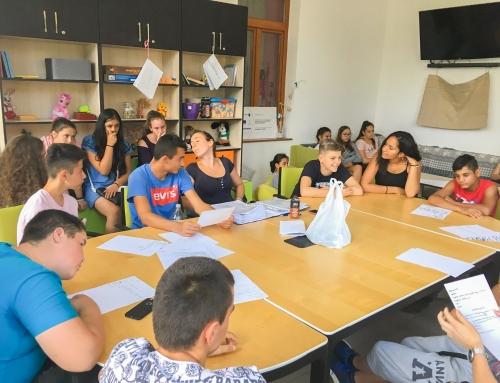 Napközis tábor a Család és Karrierpontban – Kapcsolatteremtési tréning